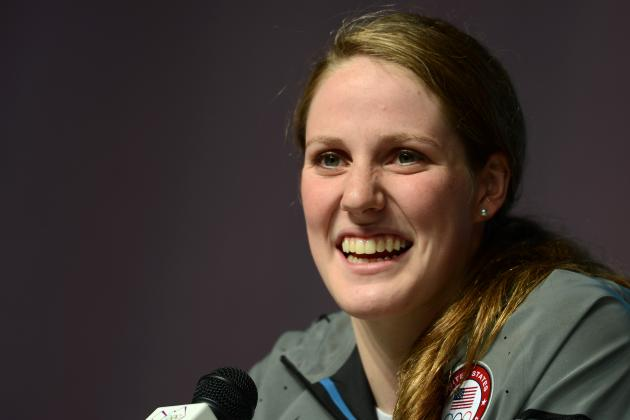 Missy Franklin: Will Multiple Olympic Medalist Keep Swimming for High School?