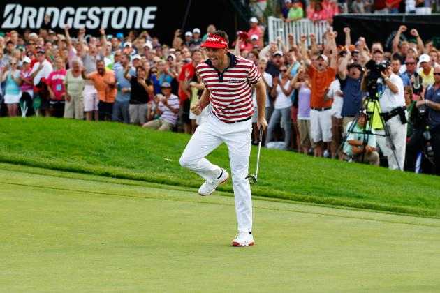 Bridgestone Invitational 2012: Day 4 Leaderboard, Updates, Analysis and More