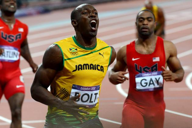 Men's 2012 100-Meter Final Field Is Greatest in Olympics History
