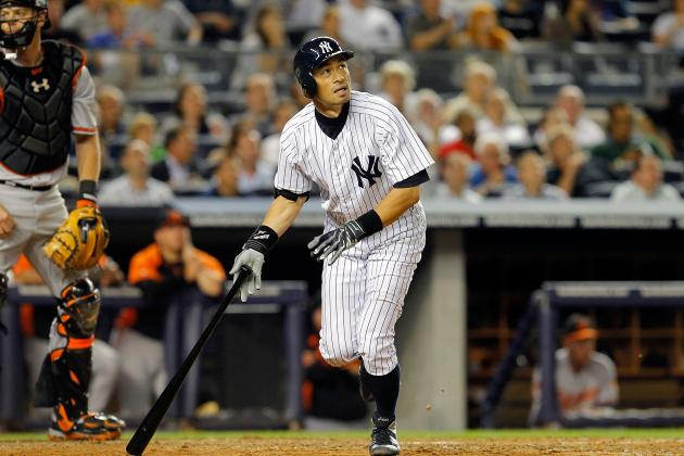 New York Yankees: Could Ichiro Suzuki End Up as the Right Fielder in 2013?