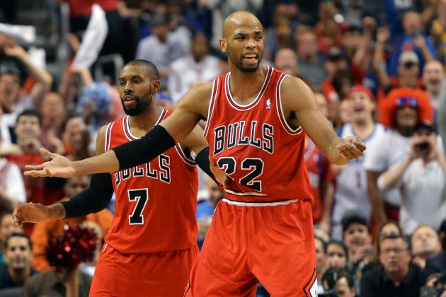 Chicago Bulls: Taj Gibson Must Start over Carlos Boozer with Derrick Rose Hurt