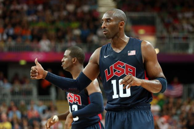 Team USA Basketball 2012: Is Kobe Bryant Ruining Team Chemistry?