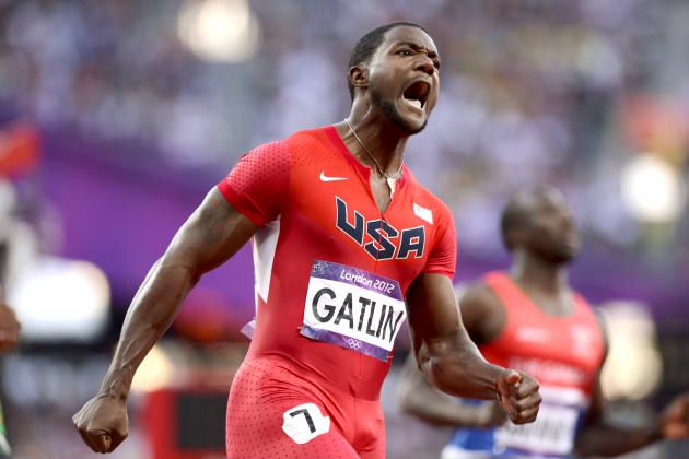 Olympic 100-Meter Results: Justin Gatlin, Tyson Gay Fast, but Not Fast Enough