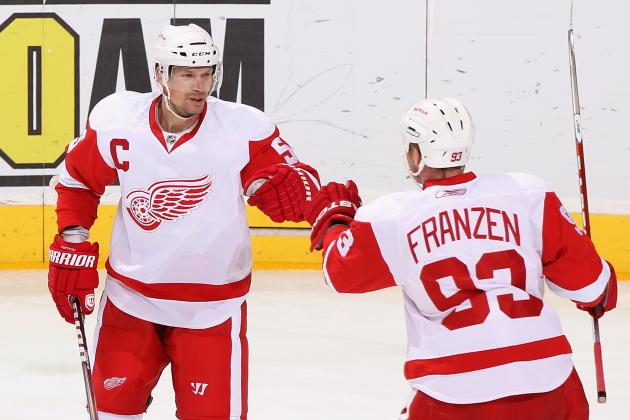 Detroit Red Wings: Johan Franzen Must Make Waves in Wake of Lidstrom Retirement