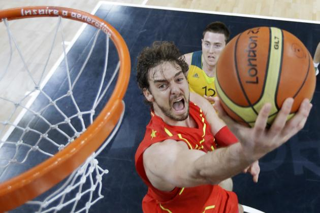 Olympic Basketball 2012: Power Ranking Each NBA Player in Spain vs. Brazil