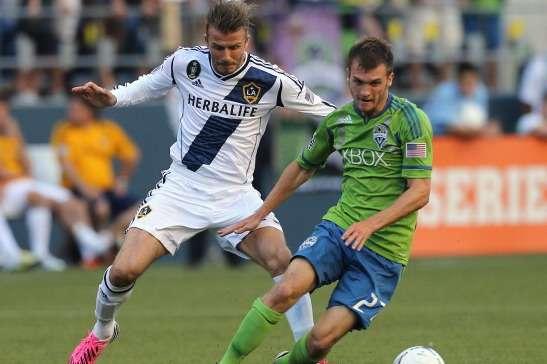 Los Angeles Galaxy vs. Seattle Sounders: Rating David Beckham's Performance