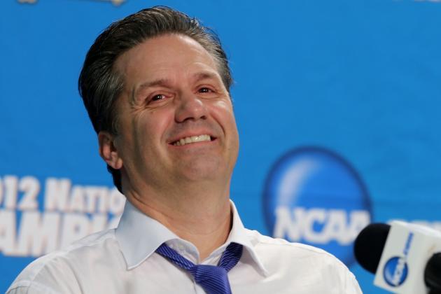 Kentucky Basketball: John Calipari Tells Andy Katz He Knows Only Two Starters