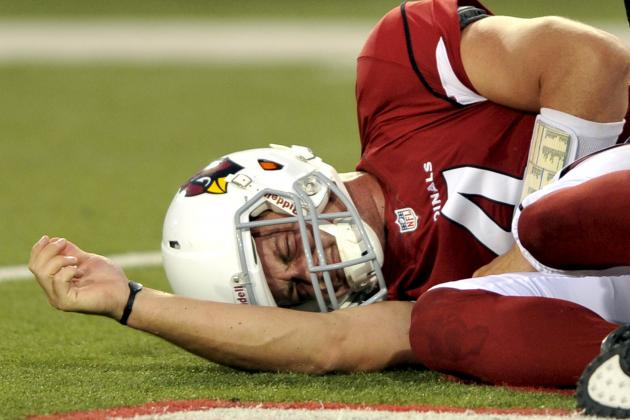 Kevin Kolb's Nightmare Start Launches Cardinals' QB Situation into More Turmoil