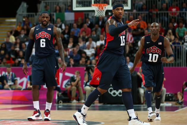 Olympics 2012: 1992 Dream Team vs. 2012 Team USA