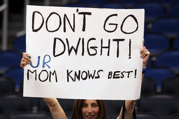 How Could Dwight Howard Return to the Orlando Magic with a Straight Face?