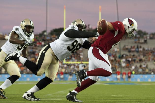 2012 Arizona Cardinals Winners and Losers from the Hall of Fame Game