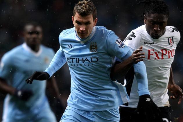 Manchester City Demand £25m for Dzeko as Negotiations