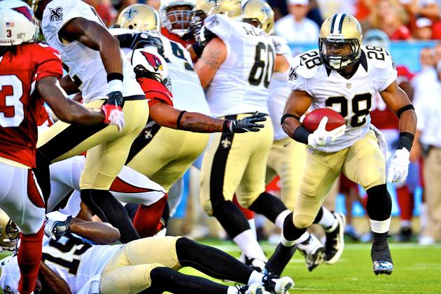 Cardinals vs. Saints: 10 Things We Learned from 2012's First Preseason Game