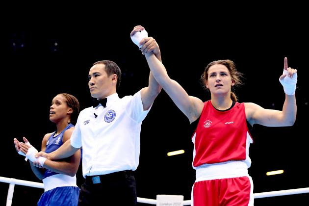 Jonas Defeats Underwood on Historic Day for Women's Boxing