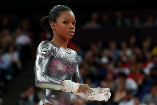 Gabby Douglas: Failure to Medal on Uneven Bars Doesn't Dampen London Performance