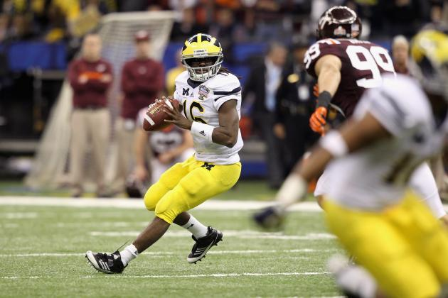 Michigan Football: Denard Robinson Is the Key to a Big Season in Ann Arbor