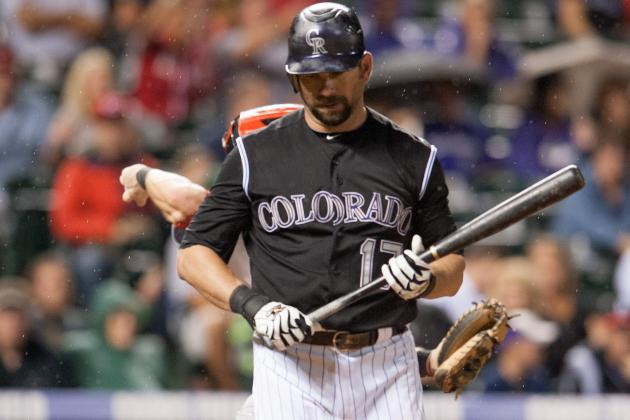 Rockies' Todd Helton out for Season, Bound for Surgery on Hip