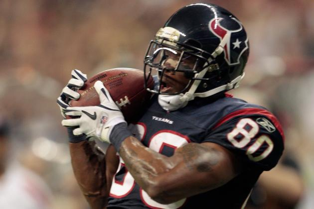 Texans' Andre Johnson Has Hall of Fame Credentials, but Durability an Issue