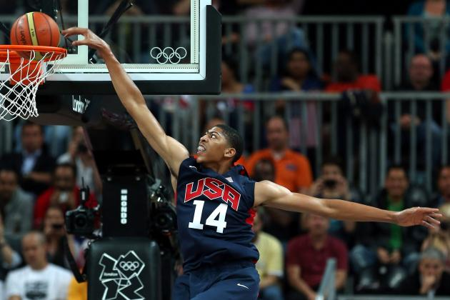 Team USA Basketball 2012: How Coach K Can Use Anthony Davis in Crucial Moments