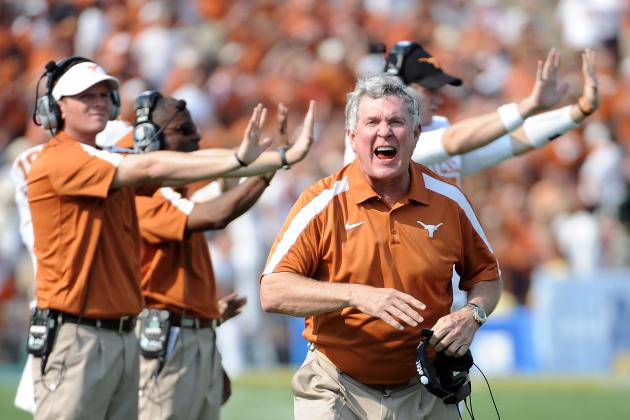 Texas Football: Longhorns Practice Uniforms Are Almost as Bad as Auburn's