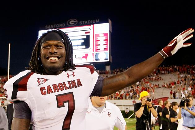 South Carolina Football: Jadeveon Clowney at MLB Adds a Wrinkle to Gamecock D