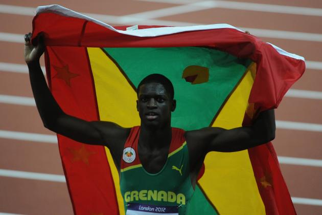 London 2012 Track and Field Men's 400m: Kirani James Paves Way for Grenada