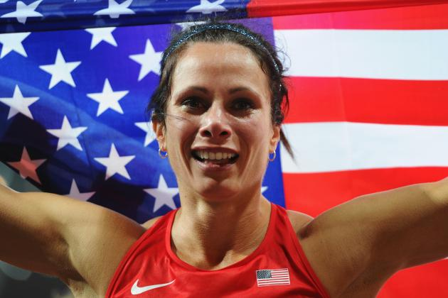 Olympic Track Results 2012: Jenn Suhr Wins Gold in Women's Pole Vault for USA