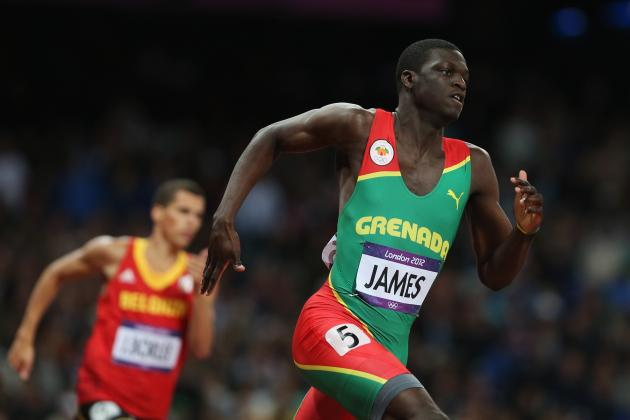 2012 Olympics: Teenage Gold Medalist Kirani James Opens New Era for 400 Meters
