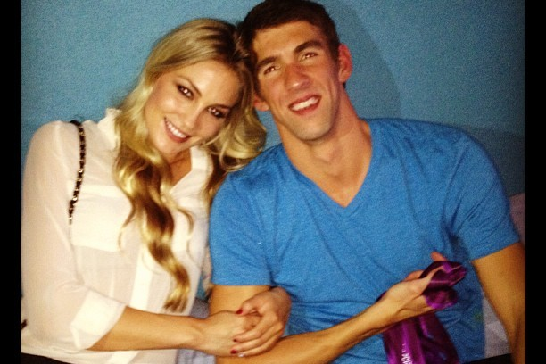 Michael Phelps' Girlfriend: Pics of Olympian's Model Beauty Megan Rossee