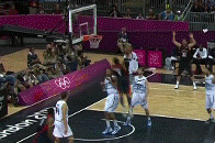 Russell Westbrook Throws Down a Monster Dunk Against Argentina