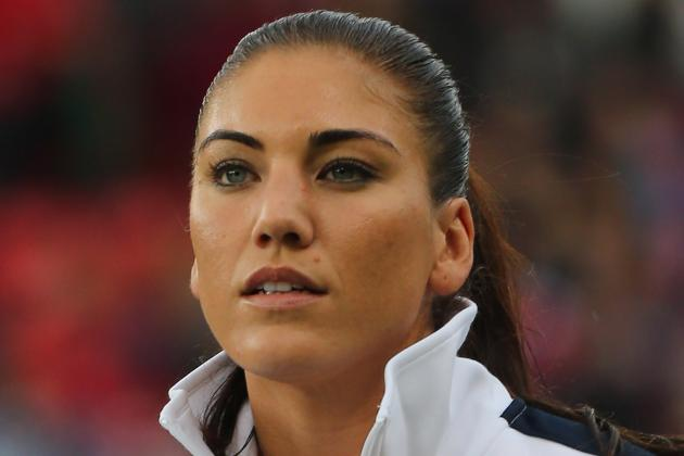 Hope Solo: Team USA Keeper Still the Best Despite Sinclair's Hat Trick