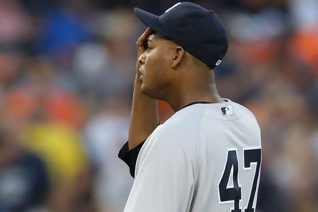 New York Yankees: Ivan Nova Pitching His Way out of Bombers Playoff Rotation