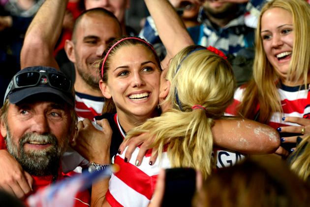 USA vs. Canada Women's Olympic Soccer: Grades, Twitter Reaction & Analysis