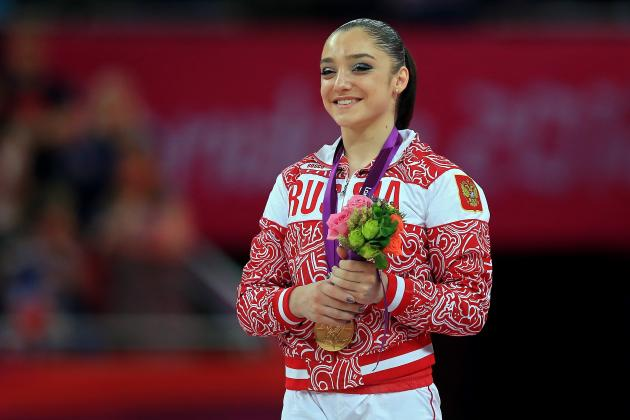 Aliya Mustafina Wins Bars, Dominates Gabby Douglas in Round 2 of Budding Rivalry