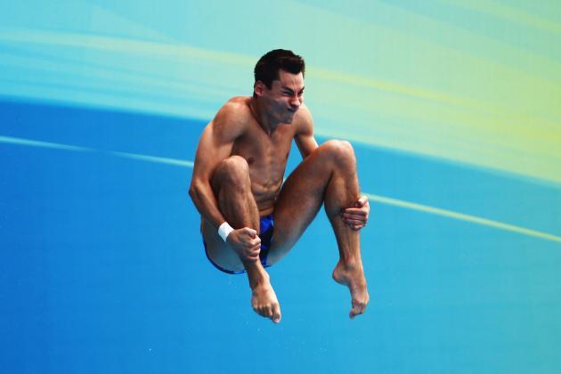 2012 Olympic Games: Diver Stephan Feck Makes Epic Splash (video)