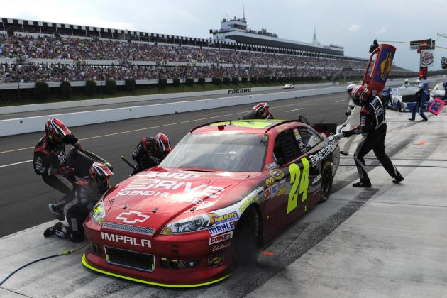 Jeff Gordon's Pocono Win Could Be Legendary with Strong Chase Performance