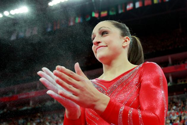 Jordyn Wieber Fails to Medal in 2012 Olympic Women's Gymnastics Floor Routine