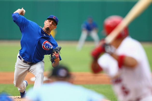 Report: Chicago Cubs' Matt Garza 'Likely' to Stay Put This Winter