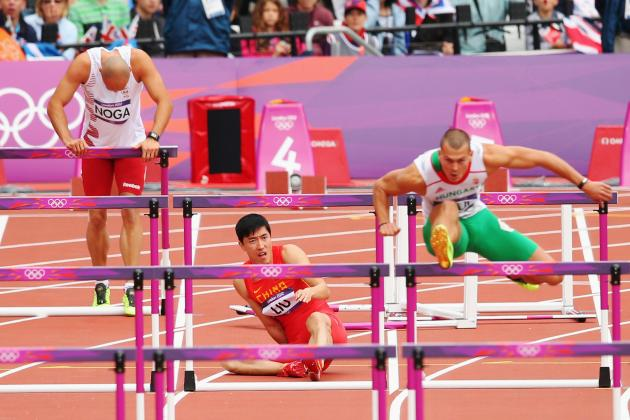 London 2012: Chinese Hurdler Liu Xiang Crashes Out, Repeating Beijing Heartache