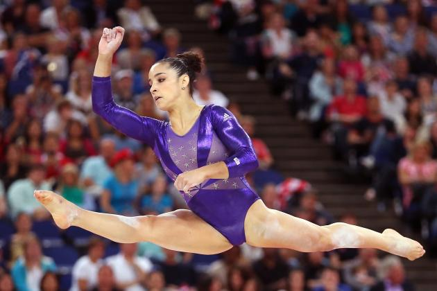 Aly Raisman Wins 2012 Olympic Women's Gymnastics Floor Routine Gold Medal