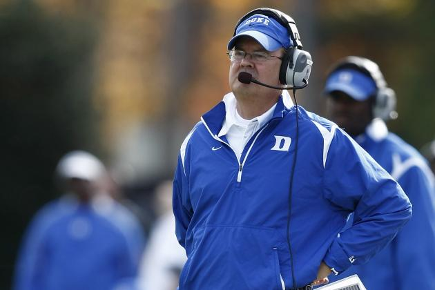 Duke Football 2012: Hopefully David Cutcliffe Is Fair in Mellencamp Situation