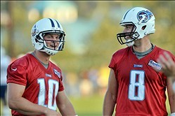 Tennessee Titans Week 2 Camp Report: Still No Winner of the Nicest QB War Ever