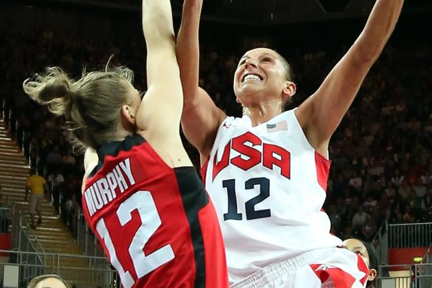USA vs. Canada Women's Olympic Basketball: Live Score, Stats & Recap