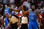 Harden Hints at His OKC Future