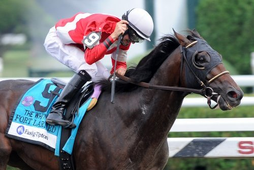 Whitney: Fort Larned Holds off All Challengers
