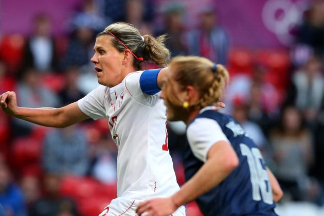 Olympic Results 2012: Controversial Loss for Canada's Women's Soccer
