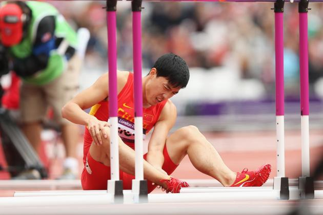 Beloved Liu Xiang Injures Achilles Again, Chinese Hurdler Still Finishes