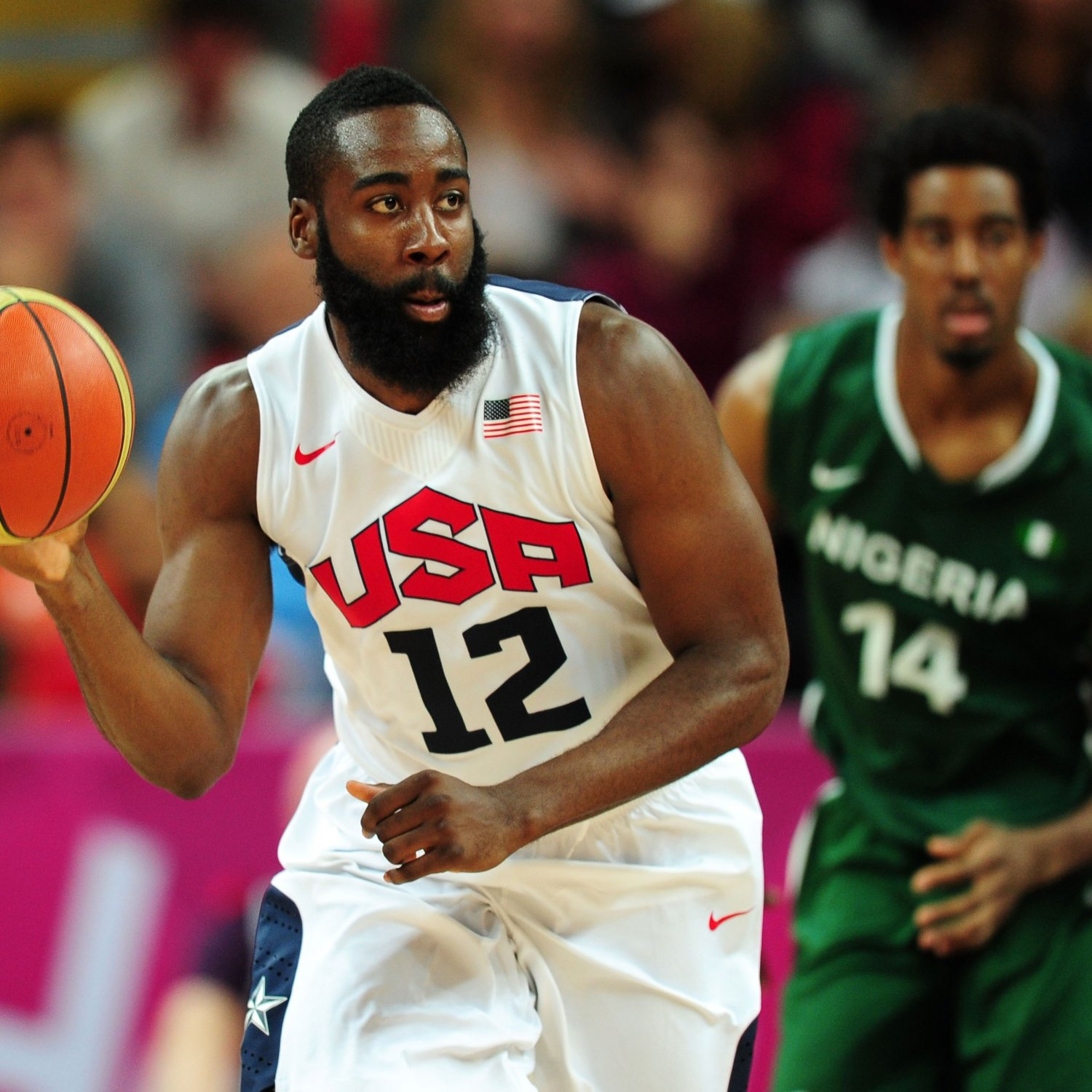 James Harden Quadruple Team: Olympic Basketball 2012: Why James Harden Doesn't Belong