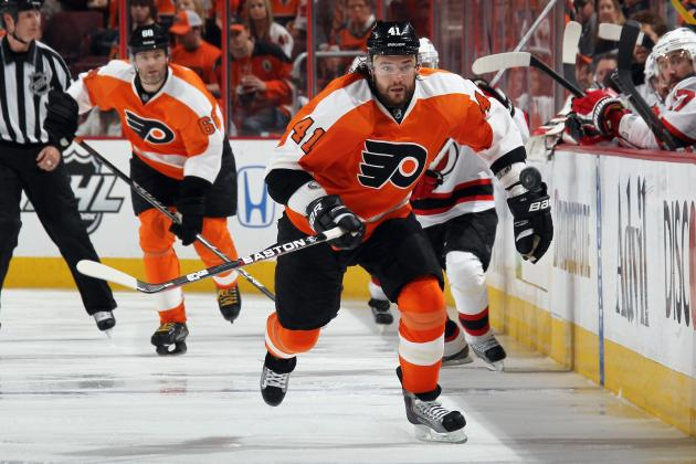 Flyers Andrej Meszaros Has Surgery to Repair Torn Achilles