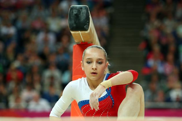 Viktoria Komova: Russian Shows She's Doesn't Have Fighting Spirit